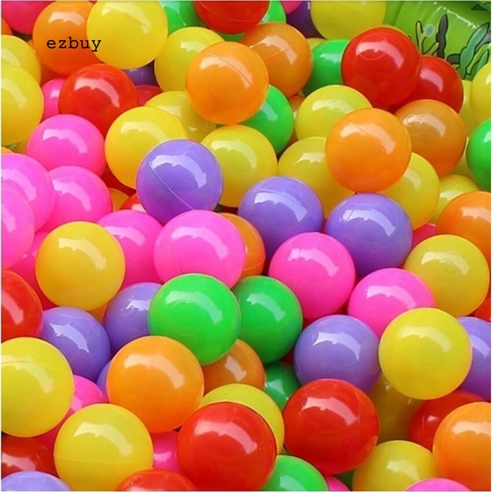 【EY】50 Pcs Baby Colorful Soft Plastic Water Pool Ocean Wave Ball Outdoor Funny Toys