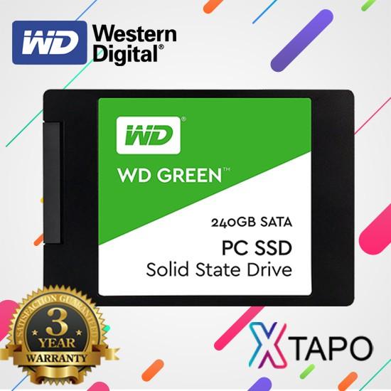 Ổ cứng SSD 240GB WD Green WDS240G2G0A - Hàng Chính Hãng (bảo hành 36 tháng) - 21623668 , 1983817342 , 322_1983817342 , 1189000 , O-cung-SSD-240GB-WD-Green-WDS240G2G0A-Hang-Chinh-Hang-bao-hanh-36-thang-322_1983817342 , shopee.vn , Ổ cứng SSD 240GB WD Green WDS240G2G0A - Hàng Chính Hãng (bảo hành 36 tháng)