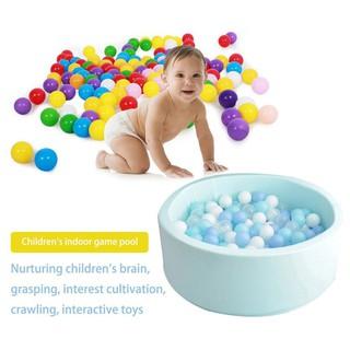 Round Anti Stress Sponge Toddler Baby Ocean Ball Pool Toy Children Gift