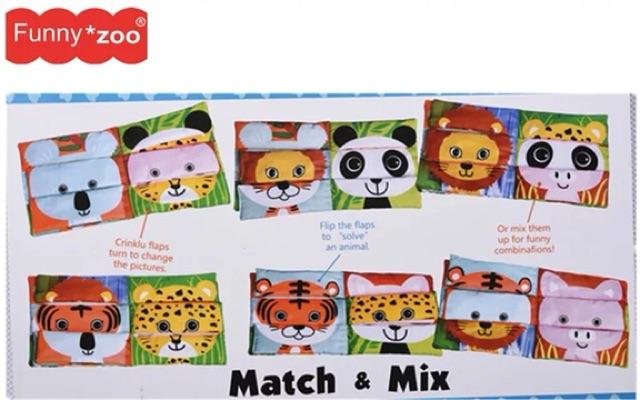 Sách vải ghép nối tương tác cho bé từ 1-3 tuổi