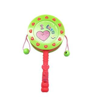 [Nhập TOYHAPPY giảm 10%]Đồ chơi trống lắc cầm tay baby bằng nhựa – ĐỒ CHƠI CHỢ LỚN