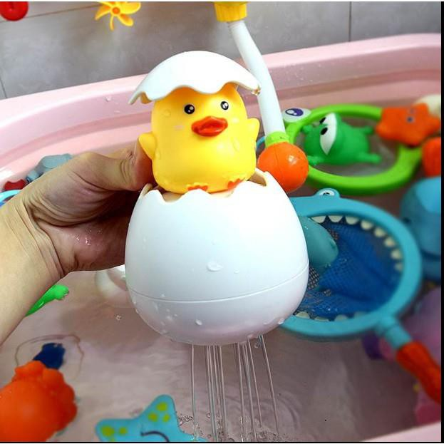 Đồ chơi trứng vịt nở dưới nước siêu hot