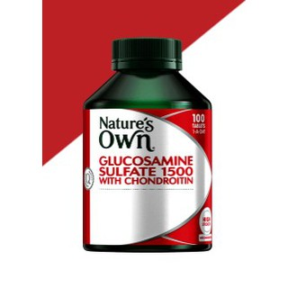 BILL ÚC – Bổ sụn khớp Nature's Own Glucosamine Sulfate 1500 With Chondroitin