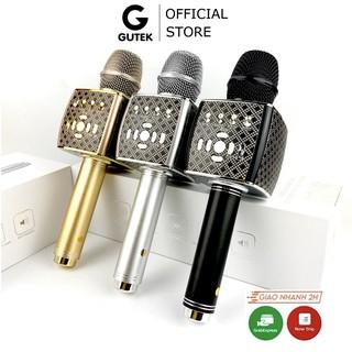 Mic Bluetooth Hát Karaoke Cao Cấp Gutek YS95 Không Dây Tích Hợp Loa, Đa Năng, Có Thể Cắm Tai Nghe, Livetream