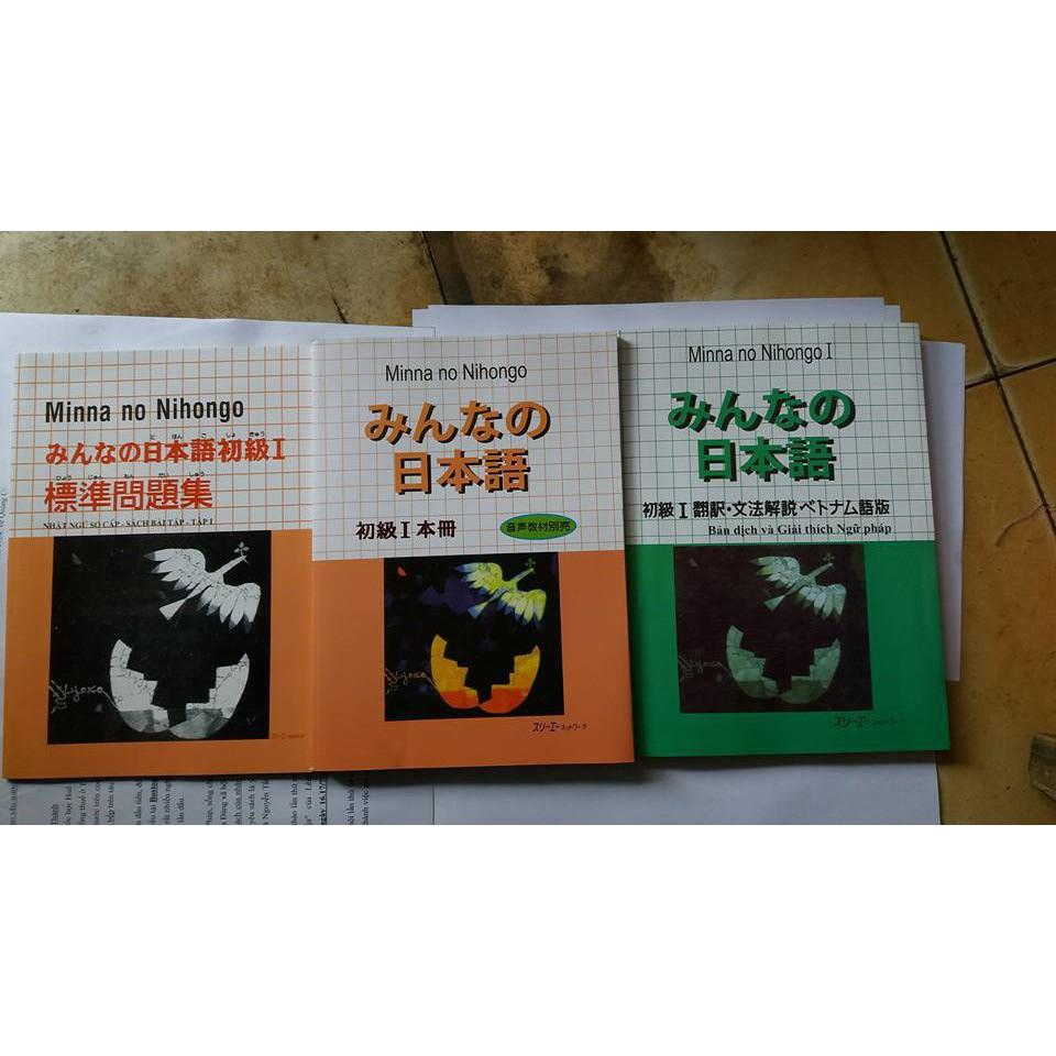 Bộ sách Minano Nihongo sơ cap 1