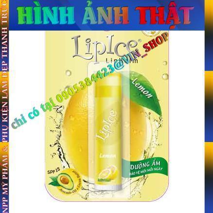 Son dưỡng môi không màu LipIce Lipbalm Lemon hương chanh 3g  - chính hãng - 14069350 , 2768539649 , 322_2768539649 , 48400 , Son-duong-moi-khong-mau-LipIce-Lipbalm-Lemon-huong-chanh-3g-chinh-hang-322_2768539649 , shopee.vn , Son dưỡng môi không màu LipIce Lipbalm Lemon hương chanh 3g  - chính hãng
