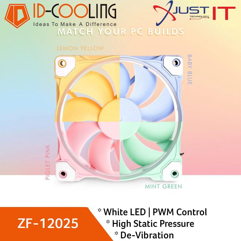 Quạt tản nhiệt ID-COOLING ZF-12025 Pastel - Chính Hãng BH 24 Tháng