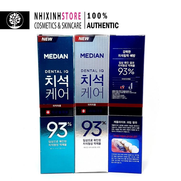 Kem Đánh Răng Median Dental IQ 93 Chính Hãng Hàn Quốc 120g