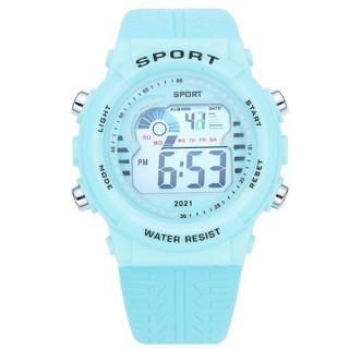Đồng hồ nữ và nam Tisselly điện tử NU50 mẫu mới điện tử thể thao đầy đủ các chức năng và dây nhựa silicon cao cấp thumbnail