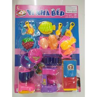 [HÀNG ĐẸP GIÁ RẺ]đồ chơi trẻ em – Set 23 MÓN ĐỒ CHƠI NHÀ BẾP NẤU ĂN CHO BÉ HÀNG VIỆT NAM