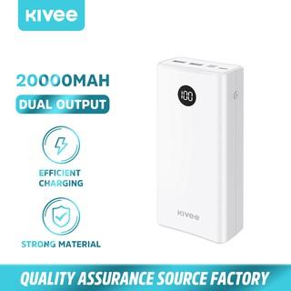 Kivee PT201P Sạc Dự Phòng Có Đèn Led 20000 mAh (Không hỗ trợ sạc cho iPhone) thumbnail