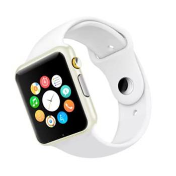 Đồng hồ thông minh W08 nghe gọi , gắn sim nghe nhạc như điện thoại màu trắng