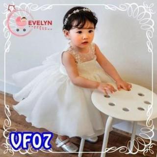 Đầm Công Chúa Evelyn Mã VF07 Thời Trang Cho Bé Gái 0-9 tuổi mặc dự tiệc sinh nhật