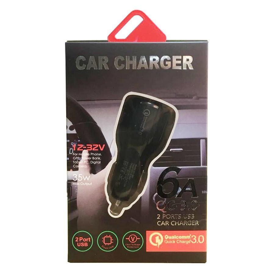 Tẩu Sạc Nhanh Ô Tô 2 cổng USB 3.1A Cốc Sạc Nhanh Quick Chagre 3.0 Xe Hơi BKS-2U Xịn Bảo Hành 12 Tháng
