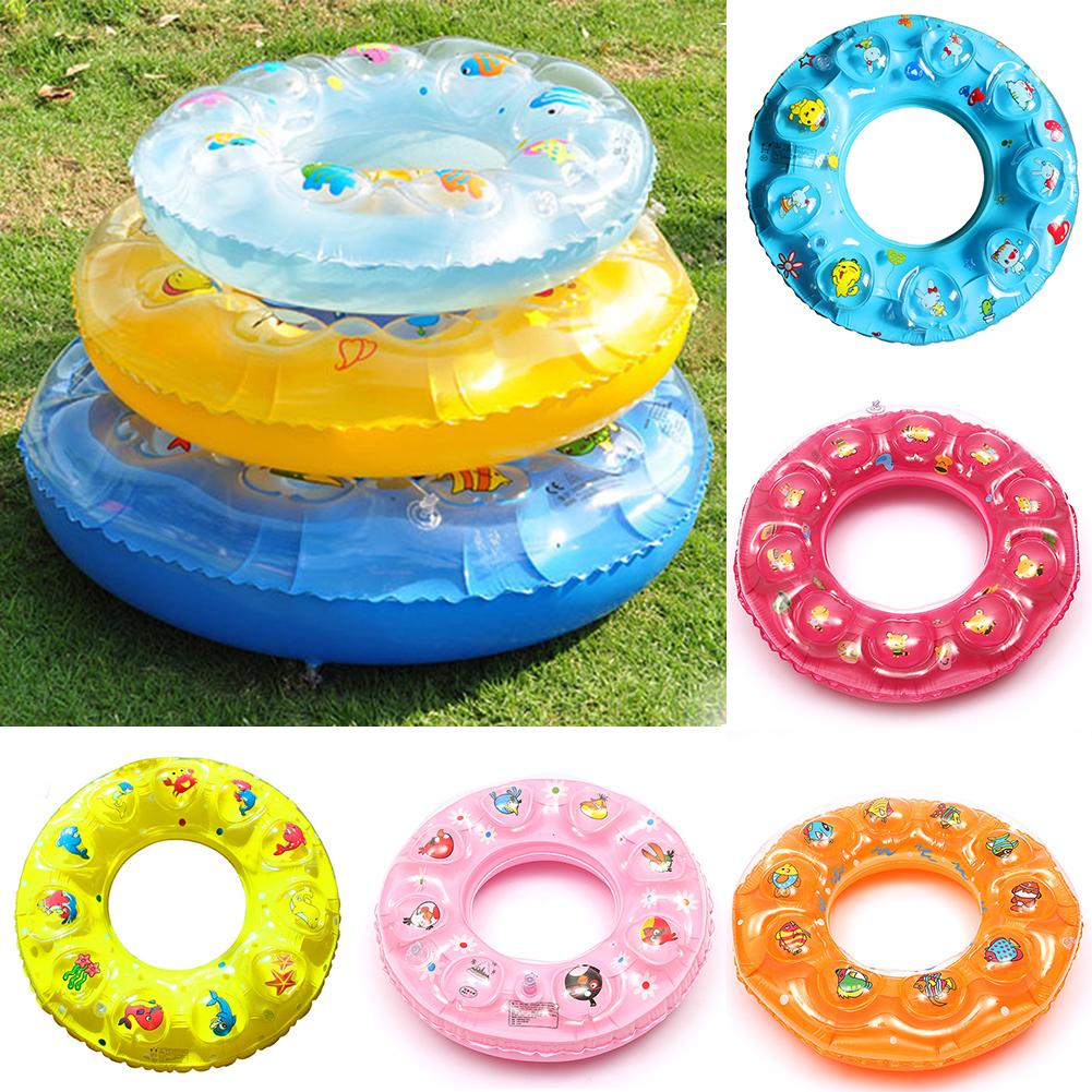 Inflatable Swim Rings, Swimming Pool Floating Ring for Kids Children