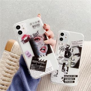 Ốp Điện Thoại Hình Nhãn Hiệu Cho Iphone 12 / Pro / Max / Mini / 11 / Xs Max / Xr / X / I7 / 7p / 8 / 8 Plus