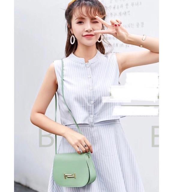 Túi đeo chéo nữ sắc màu 2019 T01