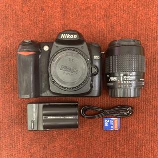 Máy ảnh Nikon D50 kèm ống kính 35-80f4-5.6D