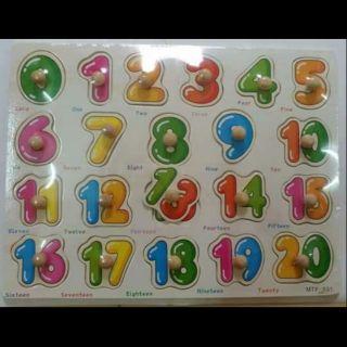 Combo bảng chữ, số, tranh ghép giá rẻ cho bé