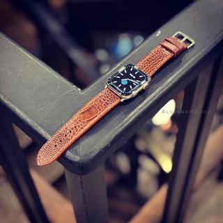 Dây đeo đồng hồ Apple Watch da đà điểu 42/44MM