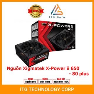 Nguồn máy tính Xigmatek X-POWER II 650/550/450 80 Plus