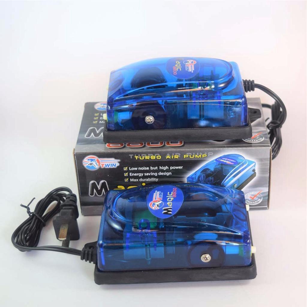 ปั้มลม ปั้มออกซิเจน 2 ทาง Magic 8800 พิเศษแพ็ค 2ตัวประหยัดั้มลม ปั้มออกซิเจน 2 ทาง Magic 8800 พิเศษแพ็ค 2ตัวประหยัด