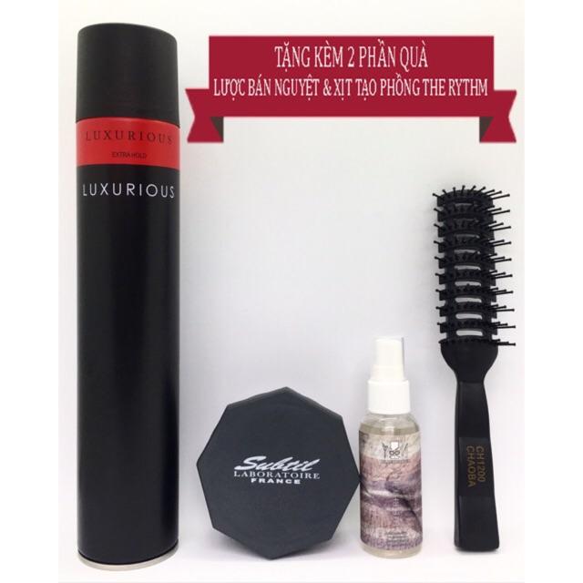 ✅[TẶNG 3 QUÀ]{Combo} Sáp Vuốt Tóc Subtil Clay Wax Và Gôm Xịt Tóc Luxurious + Tặng Pre Styling, Hair Lotion &