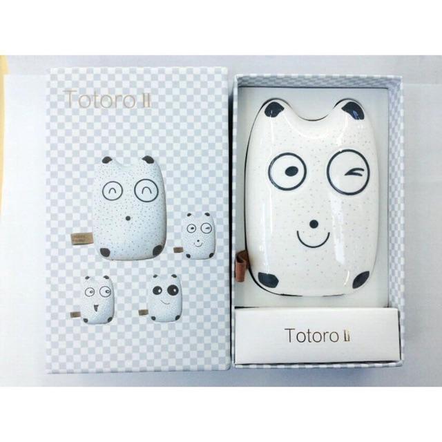 Sạc dự phòng Totoro 9000 mah hình răng sữa em bé