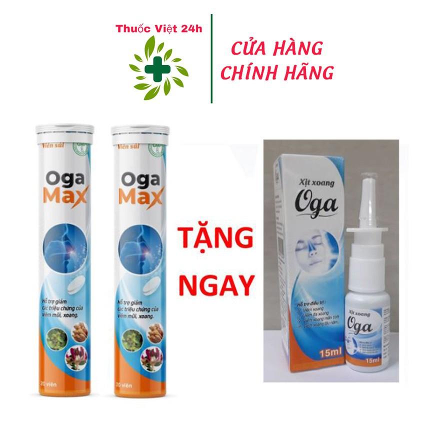 Mua 2 Sủi Tặng Ngay 1 Xịt Xoang Oga Max - Hỗ Trợ Giảm Các Triệu Chứng Của Viêm Mũi & Xoang cao cấp