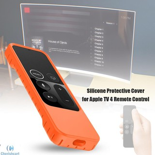 Ốp silicon bảo vệ remote TV Apple 4