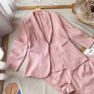 [Ảnh thật] Set vest 3 món / set caro/ set áo croptop kèm quần set xinh