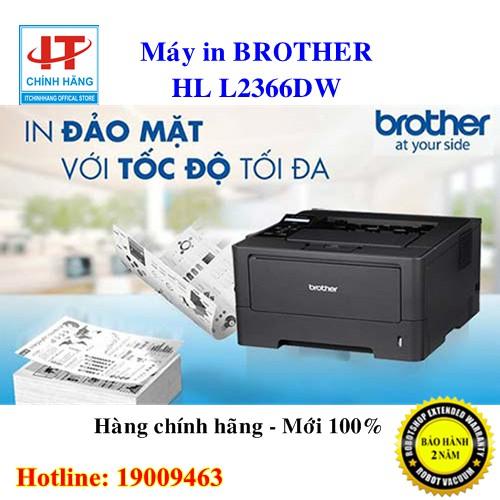 Máy In Laser Đơn Năng Brother HL-L2366DW - Hãng Phân Phối Chính Thức
