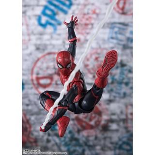 Mô hình chính hãng S.H.FIGUART MARVEL SPIDERMAN SPIDER-MAN FAR FROM HOME UPGRADE SUIT