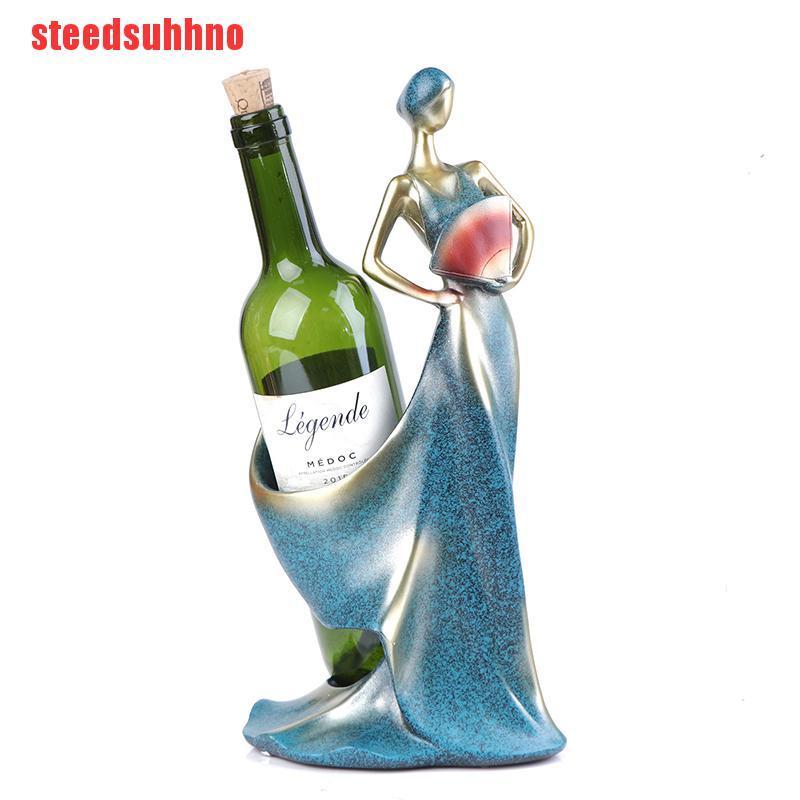 Giá Đỡ Chai Rượu Bằng Kim Loại Thiết Kế Hiện Đại