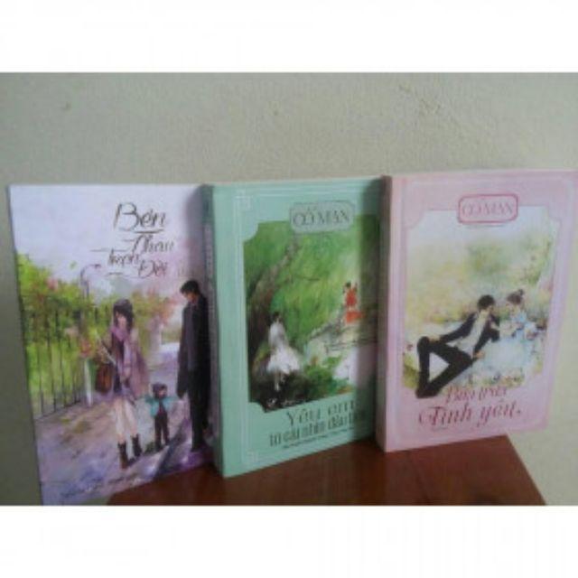 sách- Combo 3 cuốn bên nhau trọn đời, bữa trưa tình yêu, yêu em từ cái nhìn đầu tiên