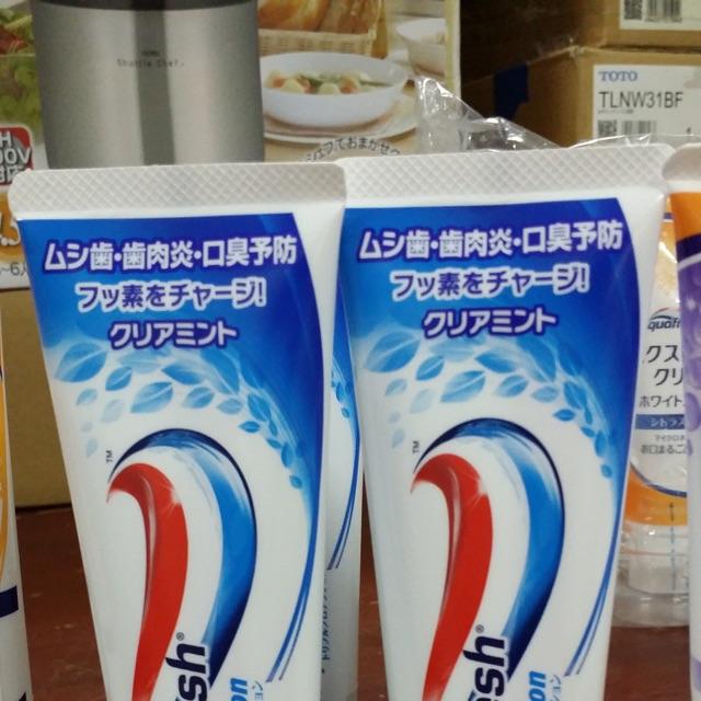 Combo 5 tuyp kem đánh răng Aqua fresh