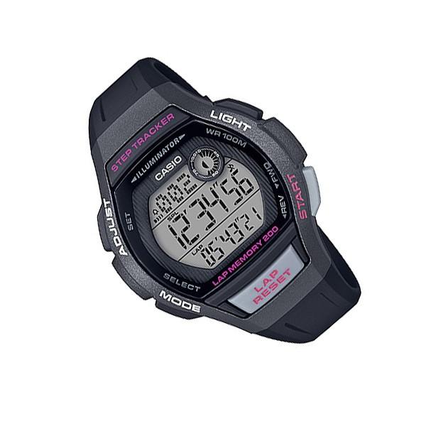 Đồng hồ nữ dây nhựa Casio Standard chính hãng Anh Khuê LWS-2000H-1AVDF