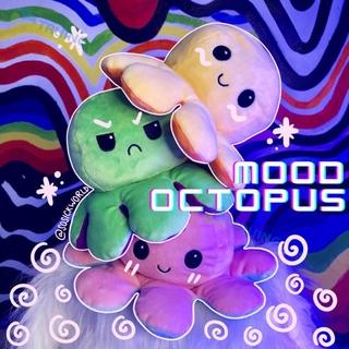 bạch tuộc cảm xúc Gấu Bông Bạch Tuộc Cảm Xúc có 2 mặt khác nhau, nhiều màu, kích thước 20cm valentine octopus TRUING thumbnail