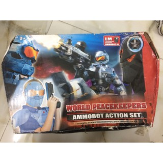 Đồ chơi trang phục chiến binh Ammobot