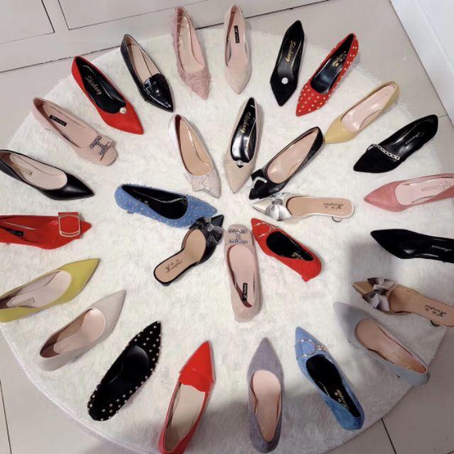 xả kho giày nữ công sở hcm(Đơn hàng 99K)