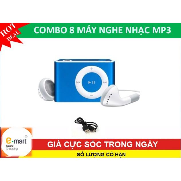 Combo 8 máy nghe nhạc Mp3