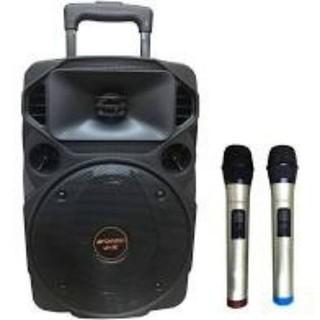 Loa kéo Sansui A8-21, Bass 20 Vỏ Nhựa, Tặng 2 Micro Cao Cấp