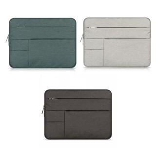 Túi chống sốc 2 ngăn, 2 túi phụ cho Macbook, laptop Oz30
