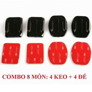 Combo 8 Món 4 Keo 3M + 4 Đế Gắn Cho Camera Hành Trình thumbnail