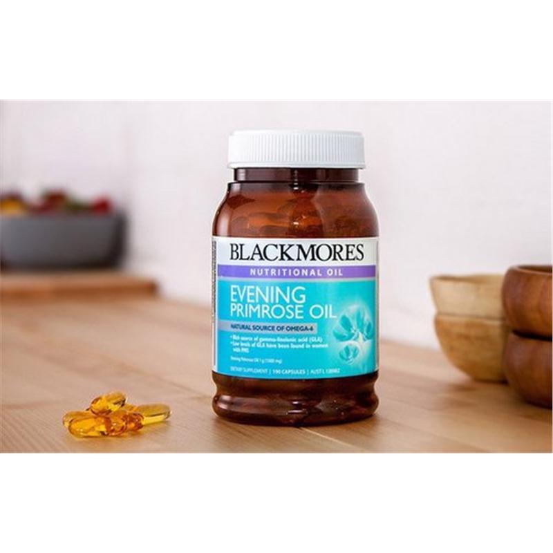 Blackmores EPO Evening Primrose Oil - Viên uống tinh dầu hoa anh thảo
