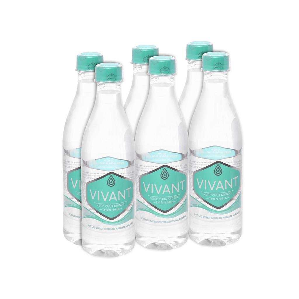 Lốc 6 chai Nước khoáng thiên nhiên Vivant 500ml