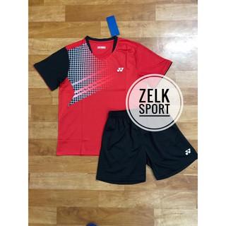 Quần áo cầu lông Yonex 3639 đỏ (nam,nữ) thumbnail