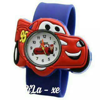 Đồng hồ trẻ em hoạt hình dây silicon