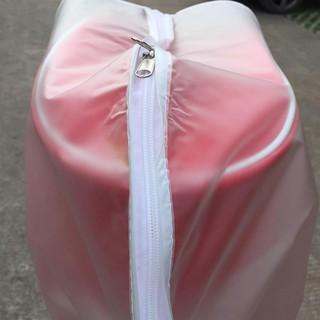 Áo mưa trong suốt bằng nhựa PVC