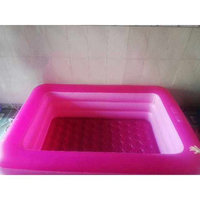 Bể bơi / hồ bơi 3 Tầng 2M1 Size lớn đáy dày chống trượt tặng kèm bộ vá bể +...